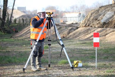 arlington-land-surveyors-construction-staking-2